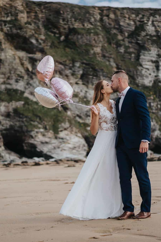 Kornwalia - sesja ślubna nad morzem 7