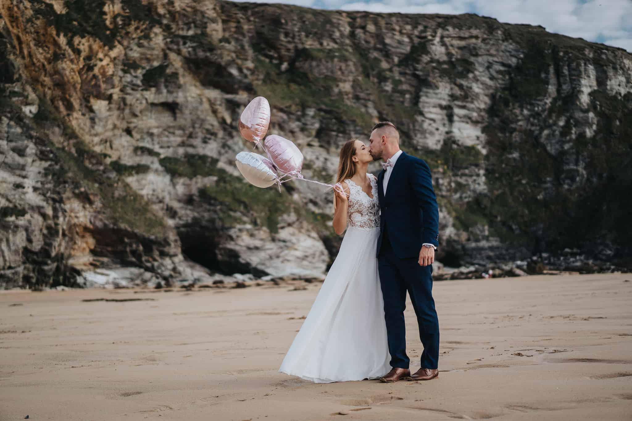 Kornwalia - sesja ślubna nad morzem 18