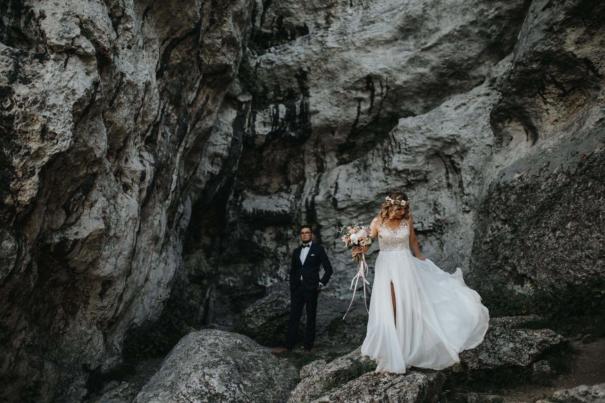 Sesja ślubna na górze Zborów 1