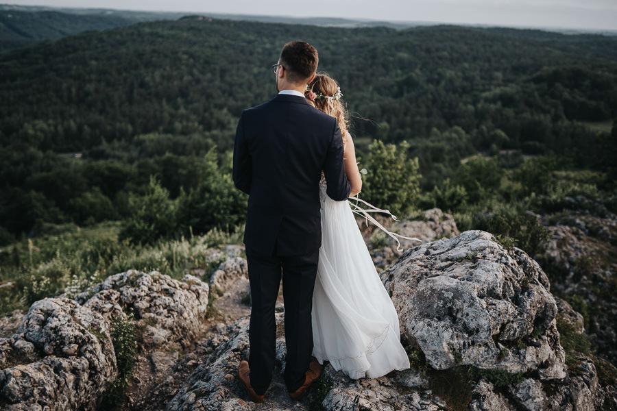 Sesja ślubna na górze Zborów 17