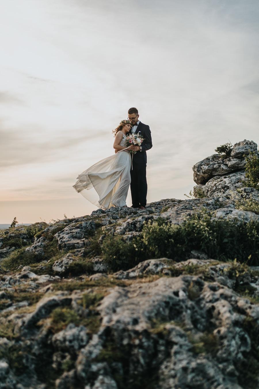 Sesja ślubna na górze Zborów 11