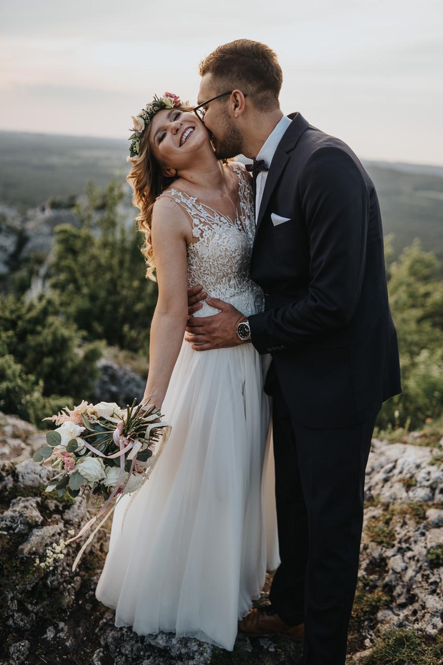 Sesja ślubna na górze Zborów 12