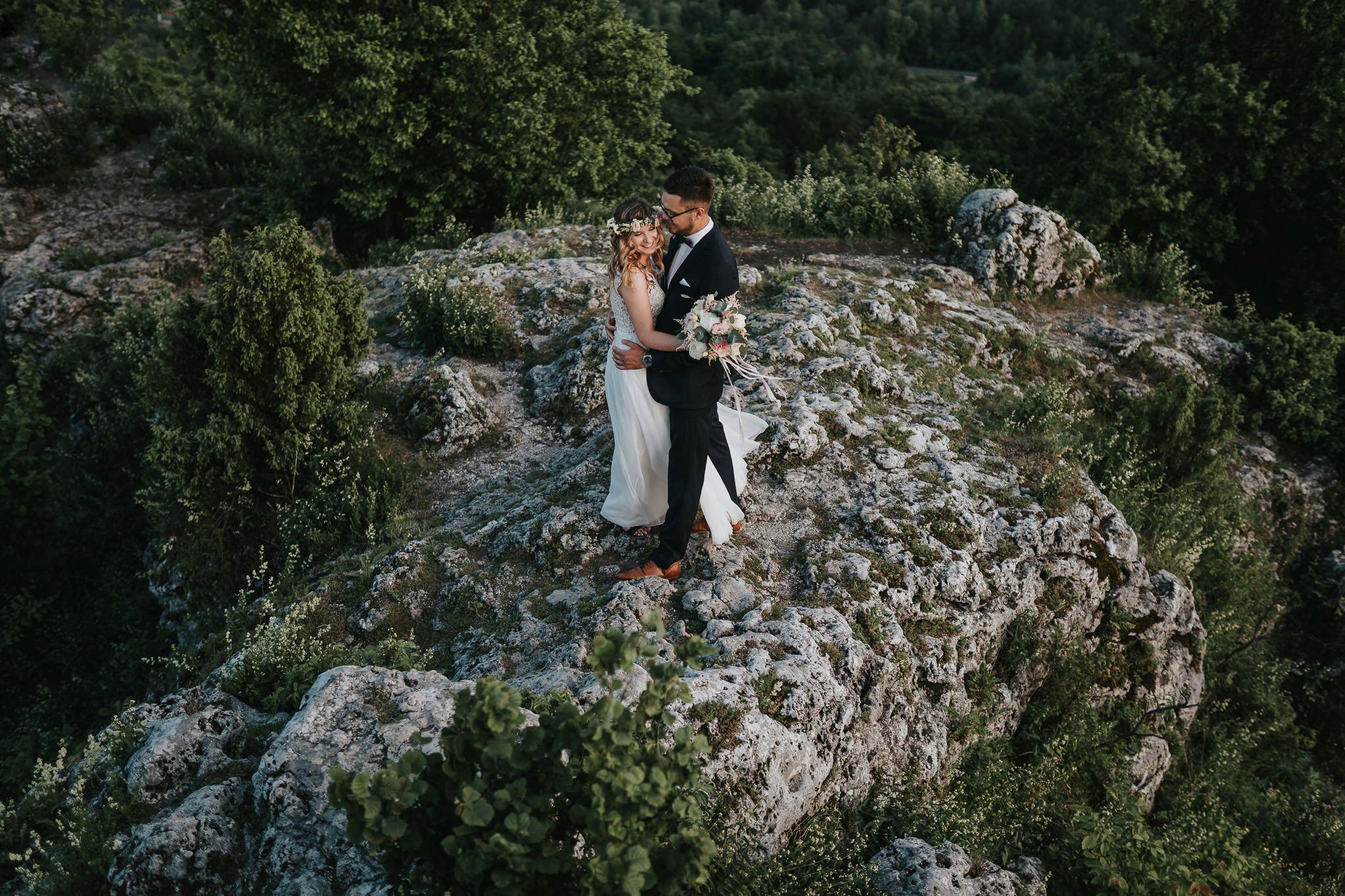 Sesja ślubna na górze Zborów 13