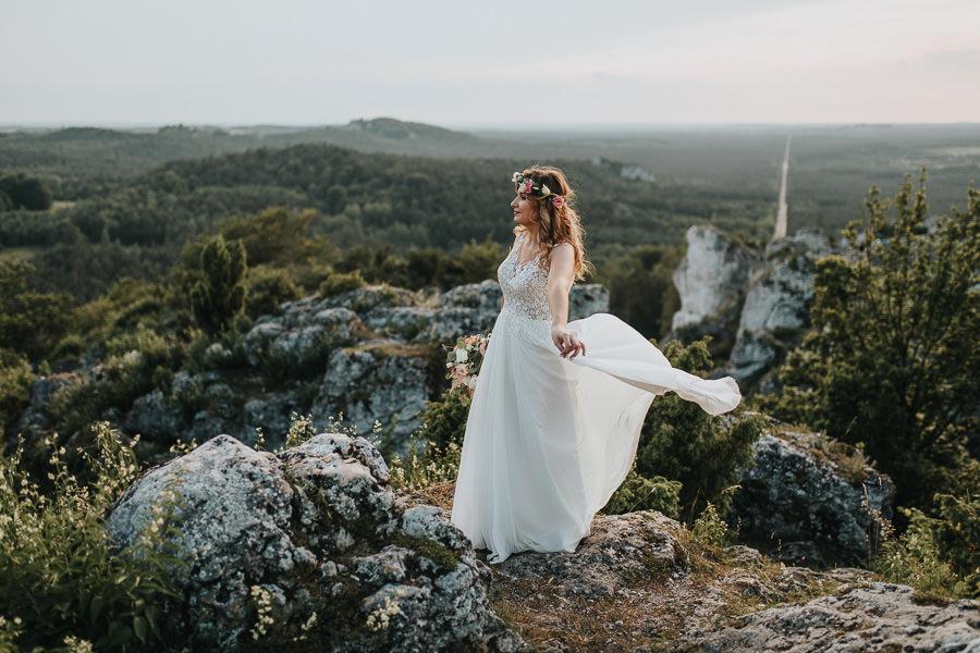 Sesja ślubna na górze Zborów 14