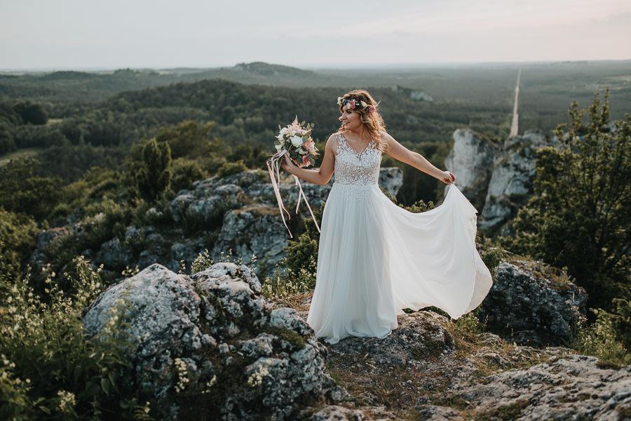 Sesja ślubna na górze Zborów 15