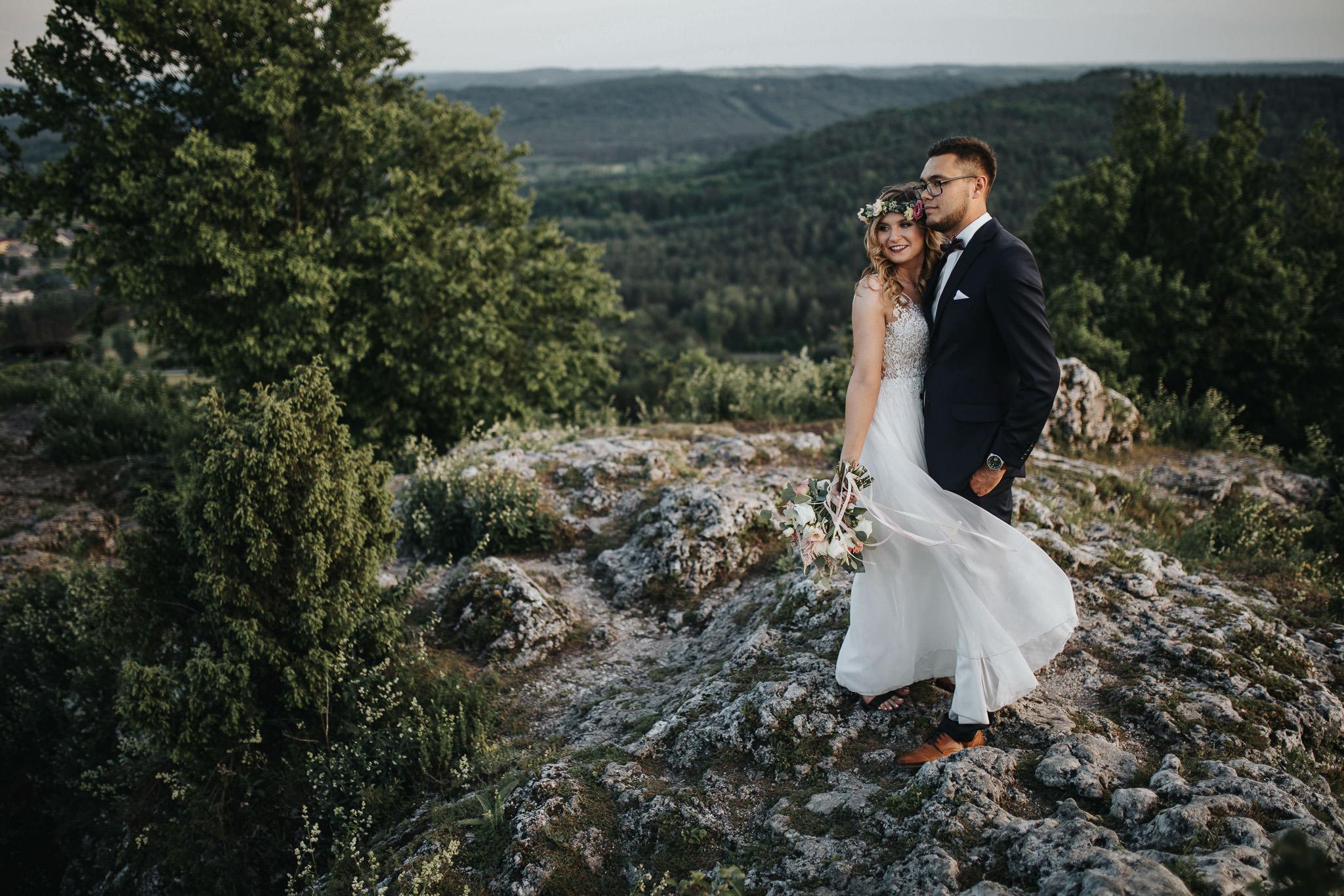 Sesja ślubna na górze Zborów 10
