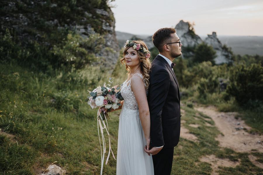 Sesja ślubna na górze Zborów 19