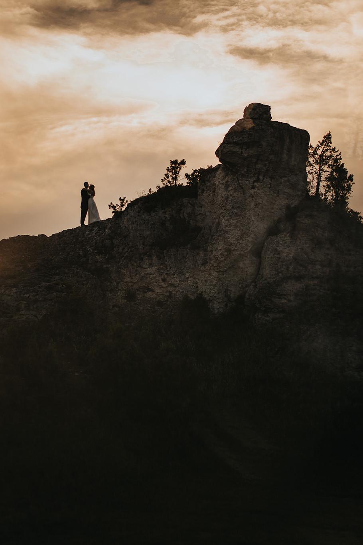 Sesja ślubna na górze Zborów 6