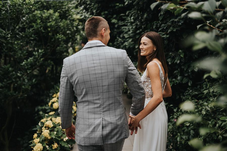 Sesja poślubna w oranżerii 5