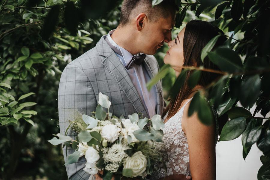 Sesja poślubna w oranżerii 4