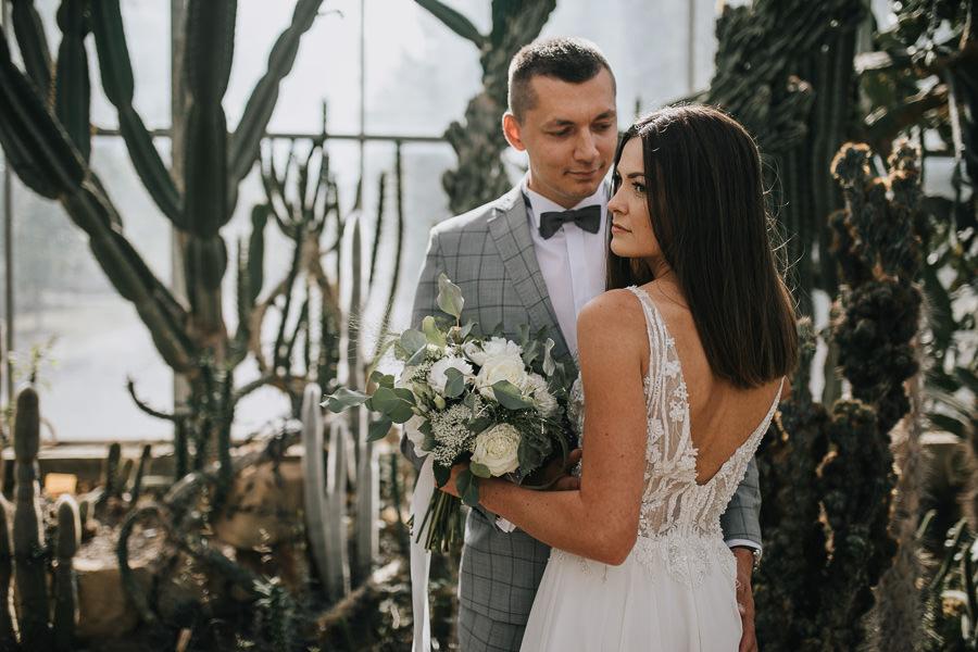 Sesja poślubna w oranżerii 11