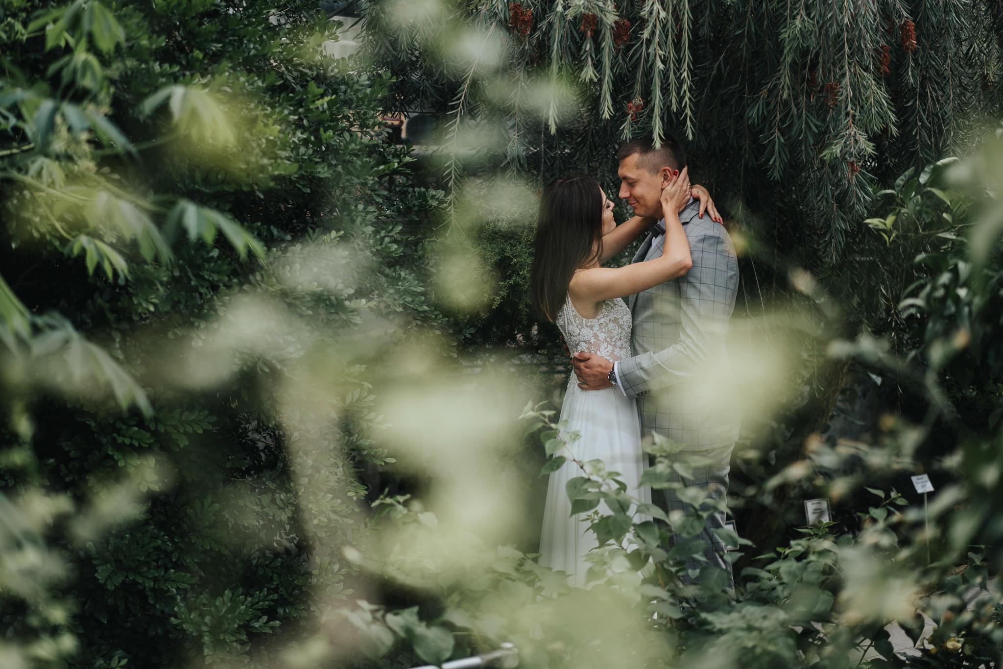 Sesja poślubna w oranżerii 16