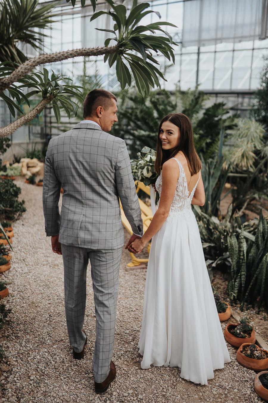 Sesja poślubna w oranżerii 22