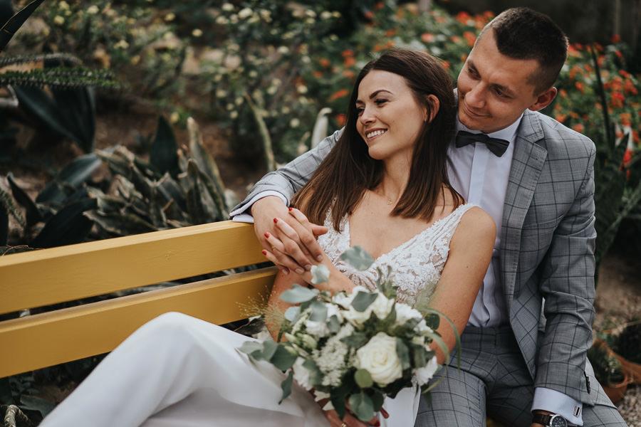 Sesja poślubna w oranżerii 25