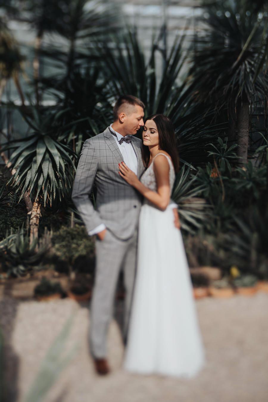 Sesja poślubna w oranżerii 28