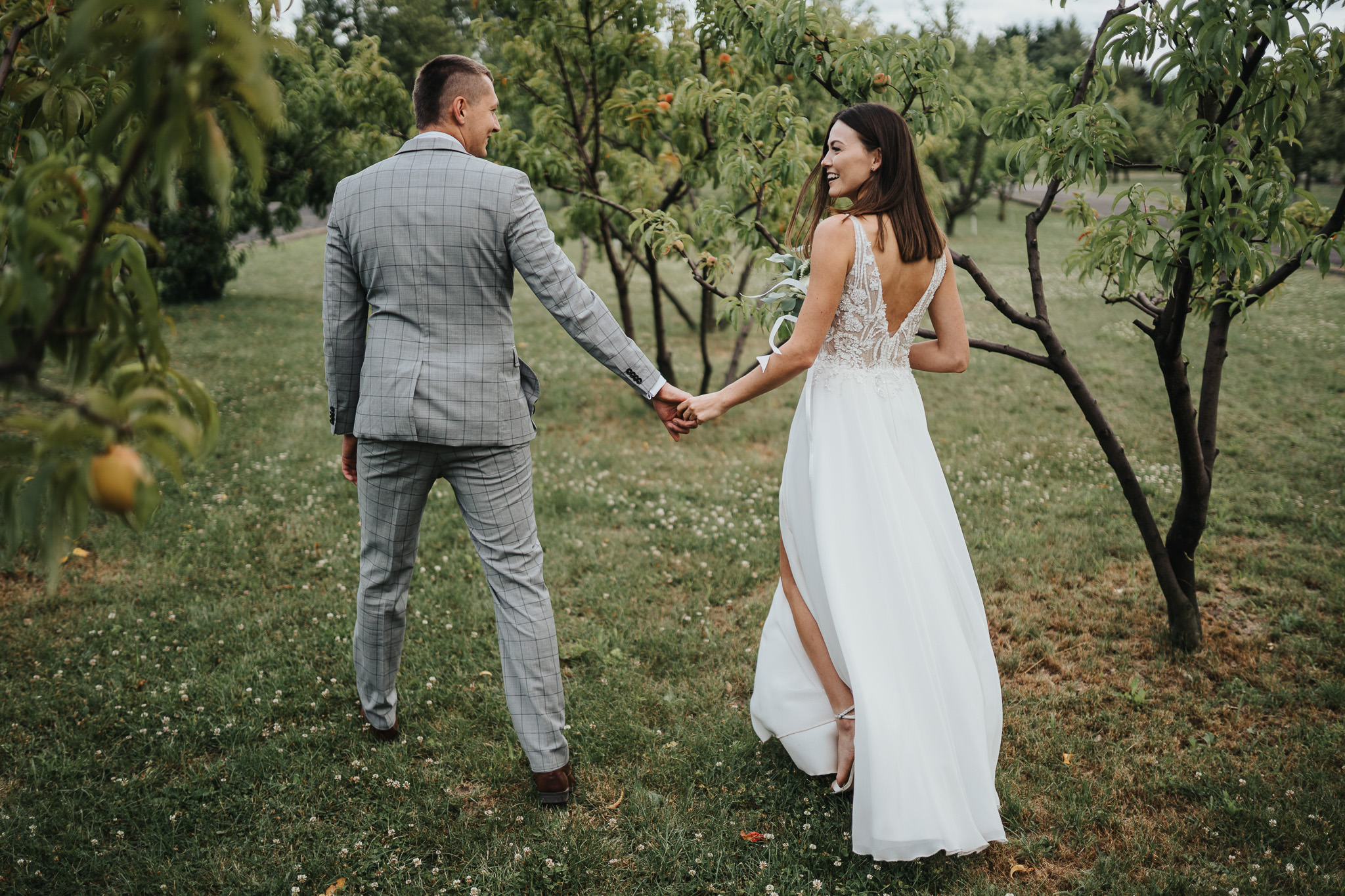 Sesja poślubna w oranżerii 36