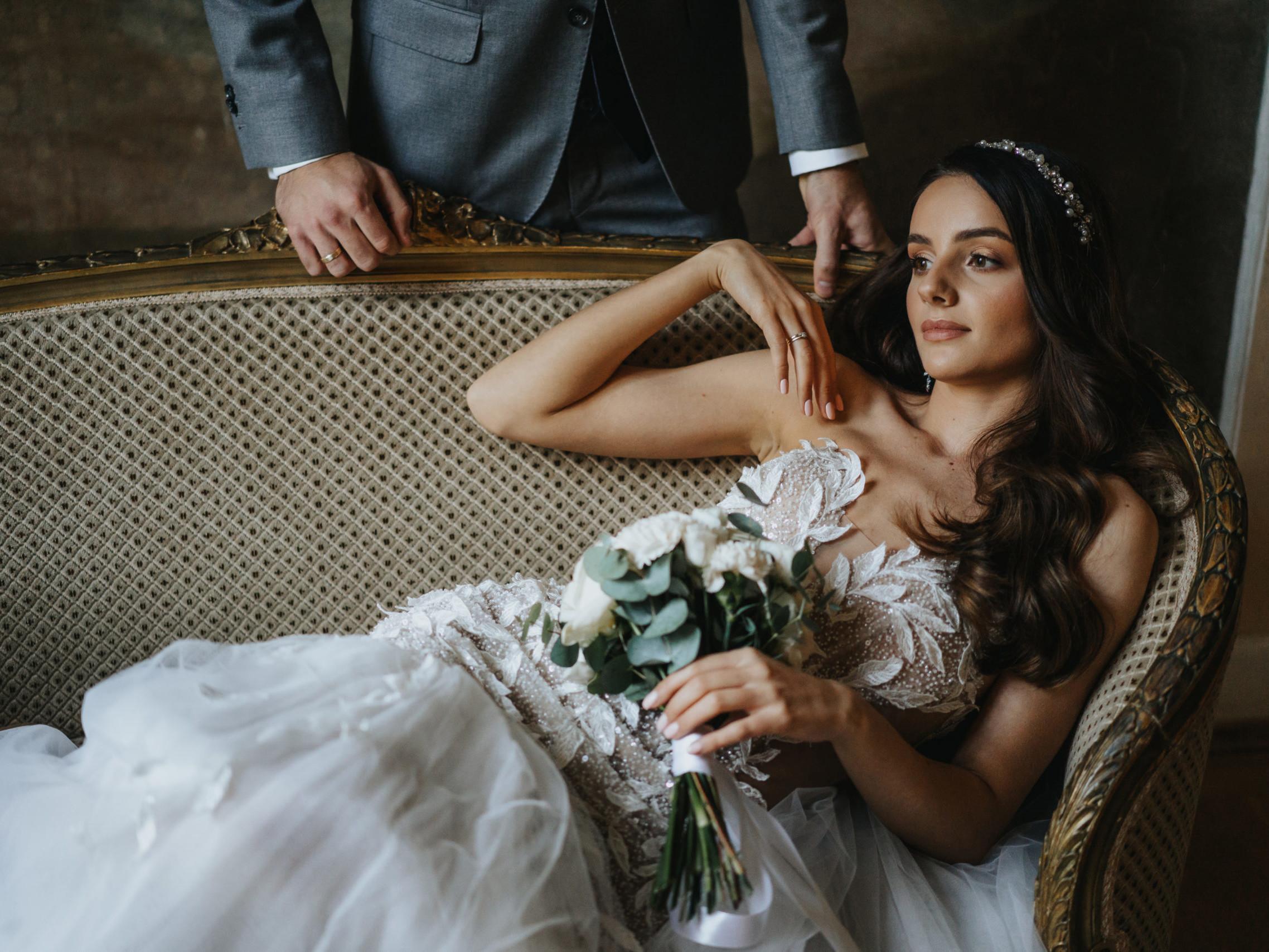 Sesja ślubna w pałacu 11