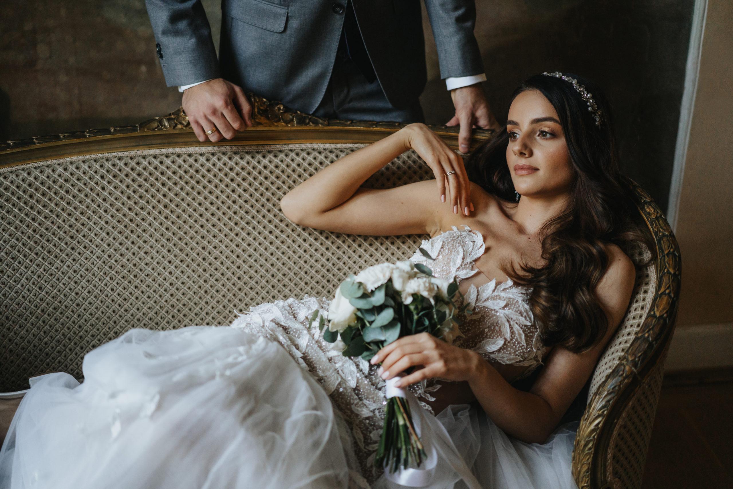 Sesja ślubna w pałacu 9