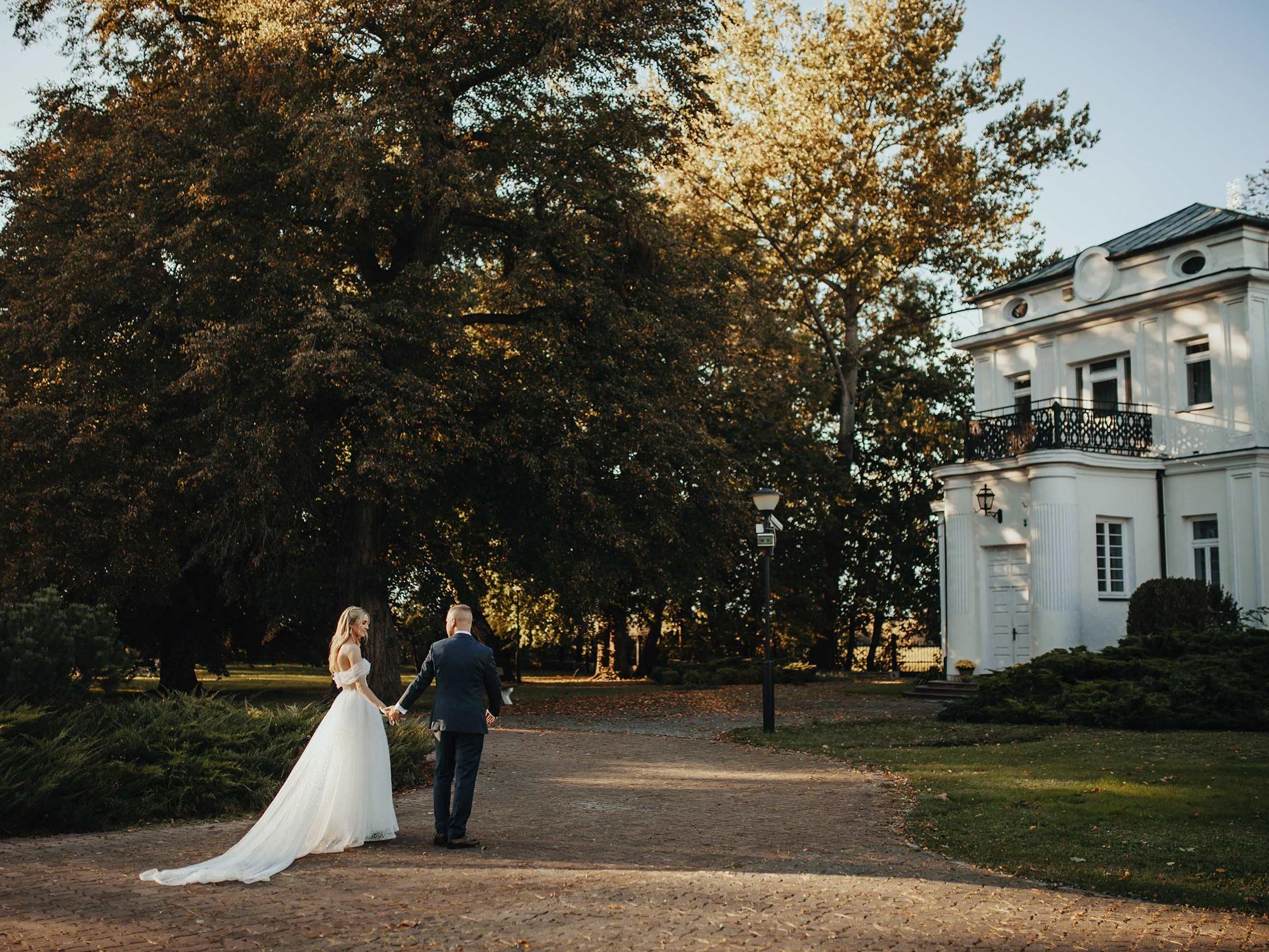 Sesja ślubna w pałacu Ślężany 9